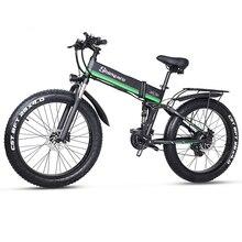 Bicicleta elétrica 48v 1000w dos homens mountain bike neve bicicleta dobrável ebike mx01 bicicleta elétrica 4.0 pneu gordo e bicicleta 48v bateria de lítio
