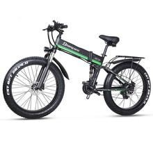 Electric Bike 48V 1000W Mens Mountain Bike Snow Bike Folding Ebike MX01 Electric Bicycle 4.0 Fat Tire e bike 48V Lithium Battery