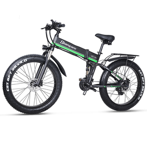 Электровелосипед 48 в 1000 Вт Мужской горный велосипед Снежный велосипед складной электровелосипед MX01 Электрический велосипед 4,0 Толстая шин...