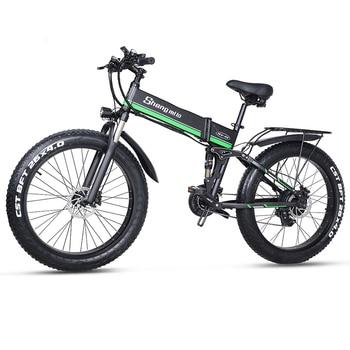 цена на Electric bicycle 1000W Electric Beach Bike 4.0 Fat Tire Electric Bike  48V Mens Mountain Bike Snow E-bike 26inch Bicycle