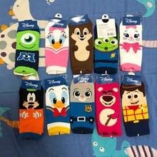 цена Disney Cartoon Girl Socks Toy Story Print Ms. Cute Cartoon Tube Cotton Socks Woody/Goofy/Judy Rabbit Socks онлайн в 2017 году
