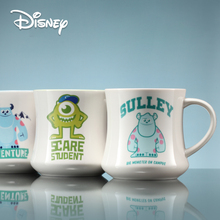 Disney coffee cup 350 ml genuine Monster University Ceramic Cup Big Eye Water Cute Childrens Cartoon Mark mugs