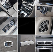 Lsrtw2017 para Volkswagen Passat B7 Control Central de coche Dasboard ventana de ventilación Panel Trims 2012, 2013, 2014, 2015, 2016 accesorios vw