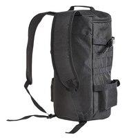 Leo 낚시 가방 휴대용 배낭 낚시 태클 스토리지 막대 홀더 도구 캐리어 23l 대용량 다목적 남자 야외 바