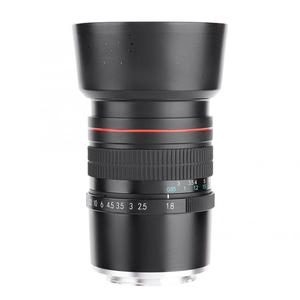 Image 2 - 85mm f/1.8 saf manuel odak büyük diyafram orta telefoto tam frame manuel aynasız kamera E Lens sony E dağı kamera