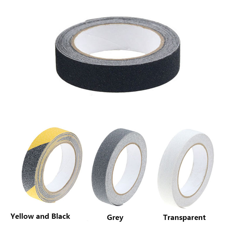 2.5CMX5M Non Slip Safety Grip Tape Anti-Slip Indoor/Outdoor Stickers Strong Adhesive Safety Traction Tape Stairs Floor