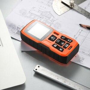 Image 3 - LOMVUM 40M 60m 80m 100m Laser Rangefinder Digital Laser Distance Meter battery powered laser range finder tape distance measurer