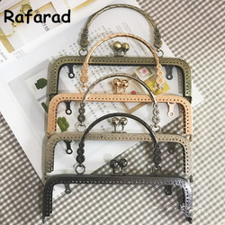 10 piezas por lote 20 Cm cuatro colores Diy accesorios de bolso con bolso de Metal bolso de moda bonito bolso de Metal marco de la bolsa a