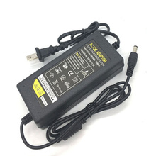 50 PCS US EU Plug lighting transformers AC 100-240V DC 12V 5A Power Supply Adapter Converter Charger For LED Strip light Monitor цена