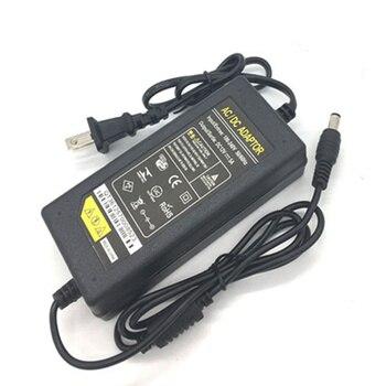 цена на 50 PCS US EU Plug lighting transformers AC 100-240V DC 12V 5A Power Supply Adapter Converter Charger For LED Strip light Monitor