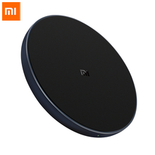 Xiaomi Qi 10W Wireless Charger Smart Fast Charger for xiaomi poco f2 pro NFC 10W For Sumsung S9