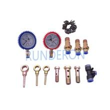 Reparo do motor diesel sistema de combustível baixa alta pressão testador kit ferramenta para a bomba trilho comum medição diagnóstico cp1 hp0 hp3 hp4
