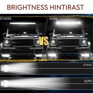 Image 4 - 12V 24V Offroad LED Light Bar Spot Flood Combo LED Work Light 5 Modes for Tractor Trailer Boat Off Road 4WD 4x4 Truck SUV ATV