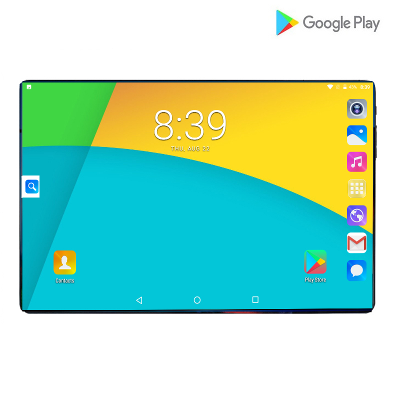 2019 Best-selling 10 Inch 3G/4G Phone Call Tablet Pc Android 9.0 Octa Core RAM 6GB 64GB ROM Brand Dual SIM Card WiFi GPS Tablets