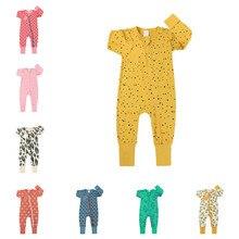 Autumn 0-24M Baby Rompers Fashion Boy Girl Cotton Newborn