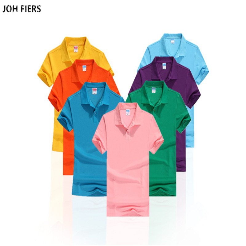 65% Cotton 2019 Summer Men's short sleeve   polos   shirts Plus size S-3XL casual solid color mens   polos   shirts fashion mens tops