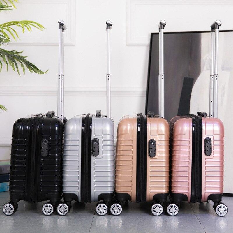 Миниатюрный чемодан на колесиках для путешествий 18 дюймов 20
