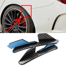 Protetor de extensão de roda para sobrancelhas, para modelos mercedes cla c117 cla45 amg cla180 cla200 250 2013-2019 guarnição de lábio