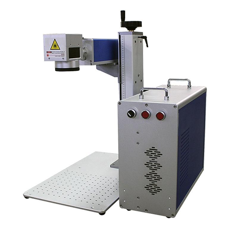 Auto Focus 30W Split Fiber Laser Marking Machine 50W Laser Engraving Machine Nameplate Laser Marking Stainless Steel
