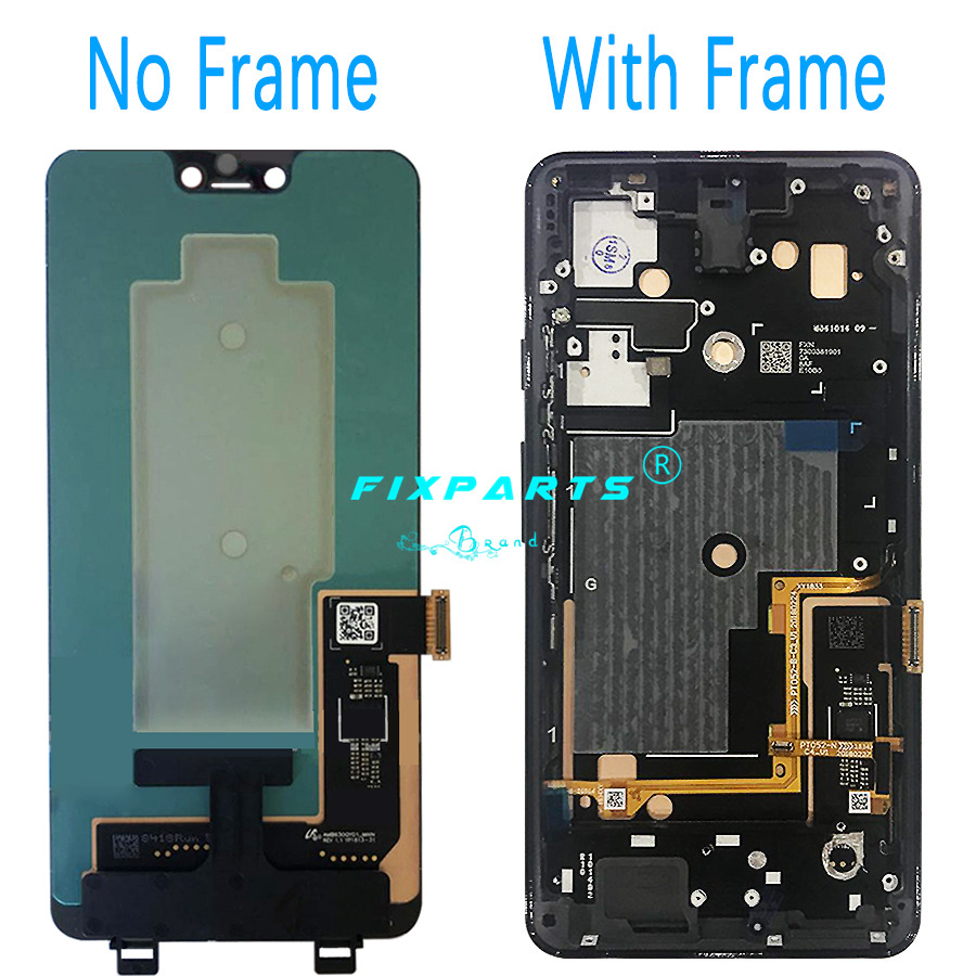 Google Pixel 3 3XL LCD Display Touch Screen Digitizer Assembly