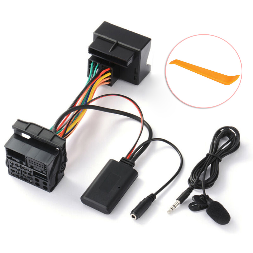 150CM Car Stereo Bluetooth Aux-in Audio Cable Harness Adapter High Quality For Ford Mondeo Auto Aux Bluetooth Adapter