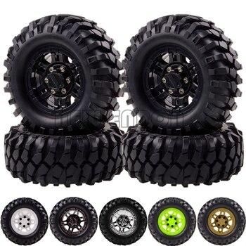 Nouveau ENRON 4P 1.9 Beadlock jantes moyeu et 96MM pneus pneu RC 1:10 Rock chenille pour Gmade D90 D110 TRX4 SCX10 MST TF2 SCX10