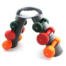Folding Weightlifting Dumbbell Bracket Multi-function Vertical Home Fitness Combination Dumbbell