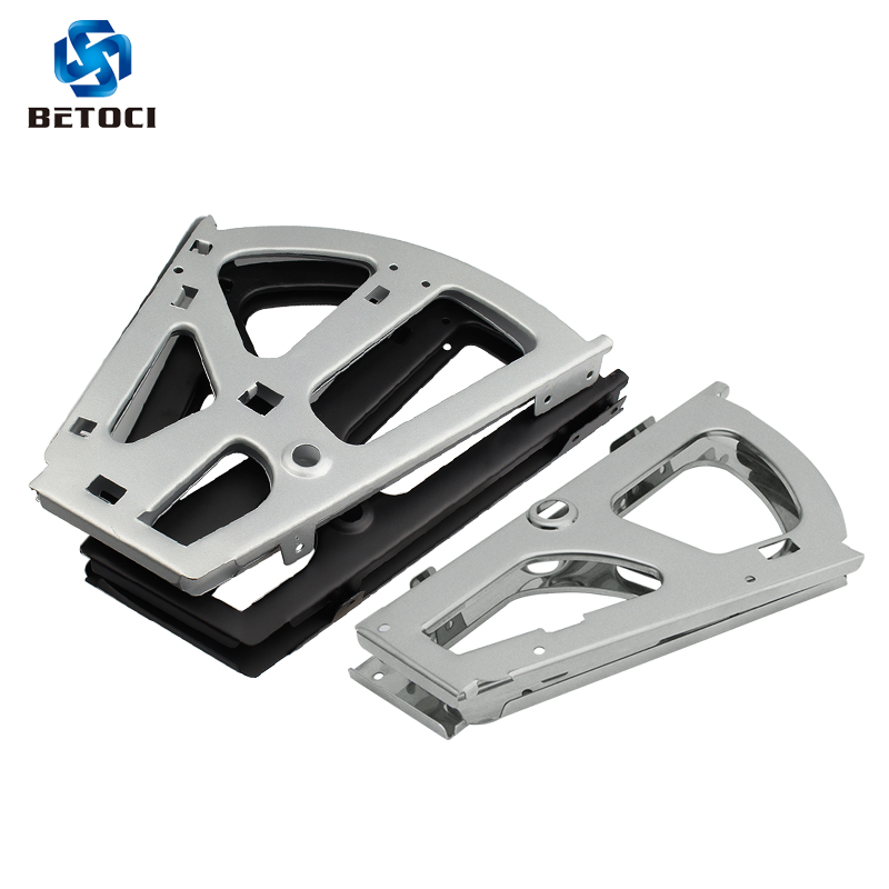 Betoci 2PCS Cold Rolled Steel Furniture Hinge Shoes Drawer Cabinet Hinge Rack Accessories Shoe Cabinet Flip Furniture Hardware