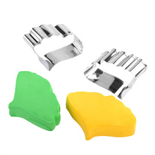 цена на Stainless Steel Biscuit Baking Leaf Cutter Fondant Cake Cookie Mold Tool Candy Sugar Craft Decoration Tools Decoration Mold