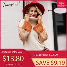 knitted pullover Casual female