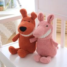 New plush toy cute smile big tooth doll soft stuffed animal unicorn bat koala child gift 28cm WJ248