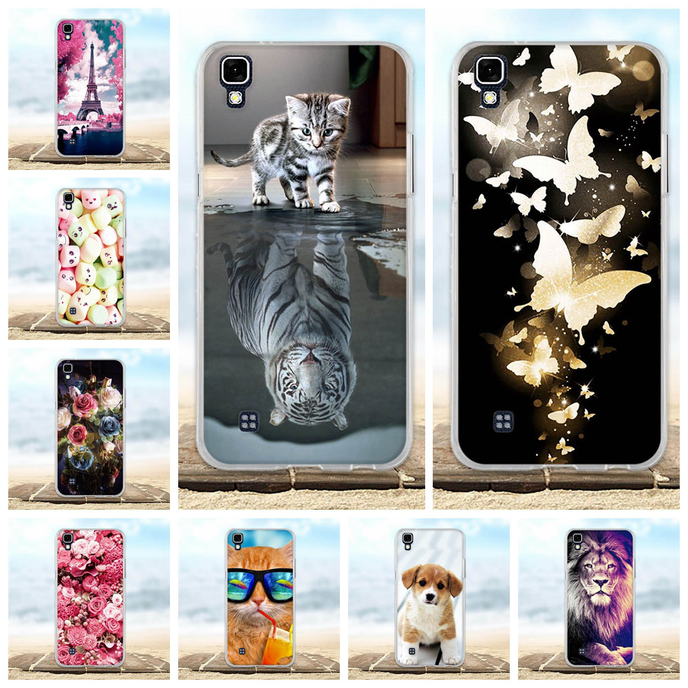 For Case <font><b>LG</b></font> <font><b>X</b></font> <font><b>Power</b></font> Cover Ultra Thin Silicon TPU Skim Case 3D Bag For <font><b>LG</b></font> <font><b>X</b></font> <font><b>Power</b></font> <font><b>K220DS</b></font> K220 LS755 US610 K450 Xpower Phone Cases image