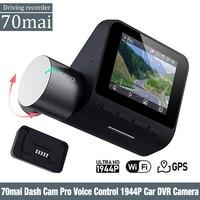 70mai Dash Cam Pro Inglese Voice Controllo 1944P 70MAI Macchina Fotografica Dell'automobile DVR GPS ADAS 140FOV di Visione Notturna 24H monitor di parcheggio