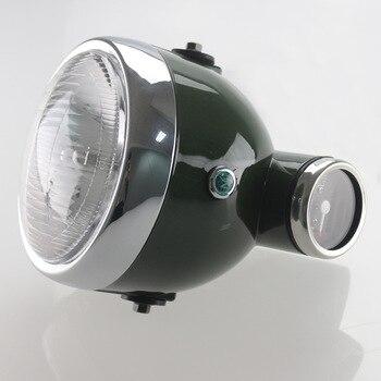 Moto Retro Integrated Headlight Speedometer Tachometer For Monkey For Guzzi V7I II JH70 CG125 Cafe Racer Bobber Universal
