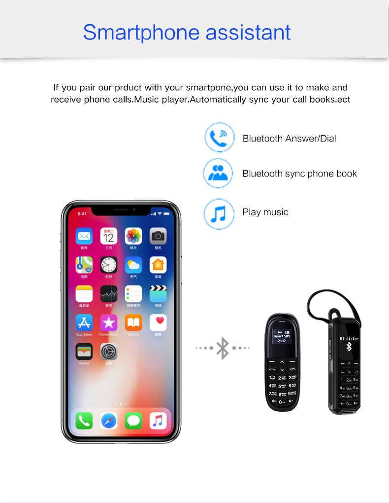 Ovisen KK1 KK2 Bluetooth Mini Headphone Ponsel Bt Dialer Auto Answer Call Sihir Perubahan Suara Ponsel PK BM50 BM70 BM10
