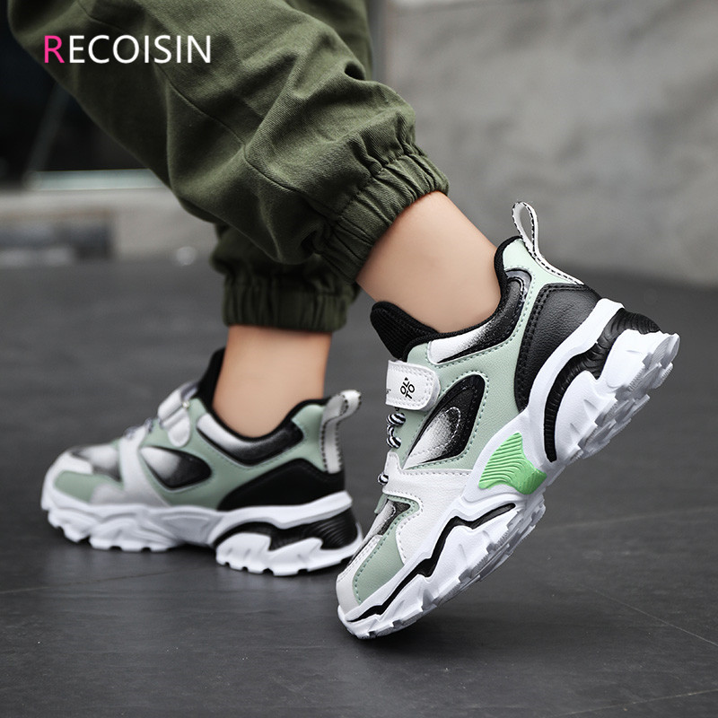 RECOISIN 2020 Autumn Chlidren Shoes High Quality Comfortable Sports Shoes For Boys Sneakers Fashion Casual Running Kids Shoes Sneakers  - AliExpress