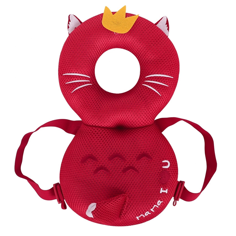 Baby Head Protection Safety Pad Toddler Headrest Pillow Baby Neck Cute Wings Nursing Drop Resistance Cushion Baby Protect