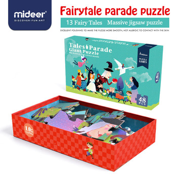 Mideer Puzzle Toys Educational Paper Puzzle for Children Big Puzzle Cartoon Games for Kids Kids Gift Puzzle Box >3 Years Old фото