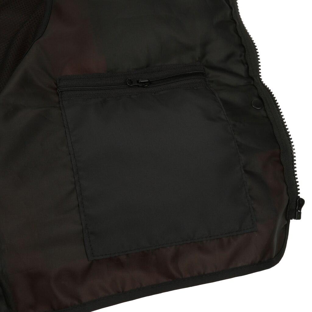 Outdoor Fly Fishing Vest Traveler Waistcoat Jacket Orange XL Water Sports Man kids Jacket Polyester Vest Jacket
