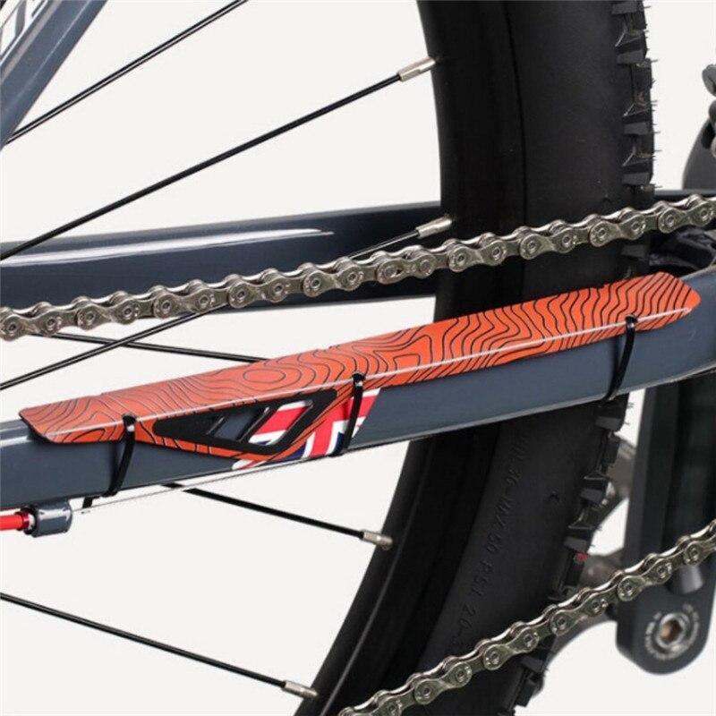 VTT cadre de vélo chaîne rester en plastique posté protecteur vélo de route chaîne garde couverture Protection vélo accessoires
