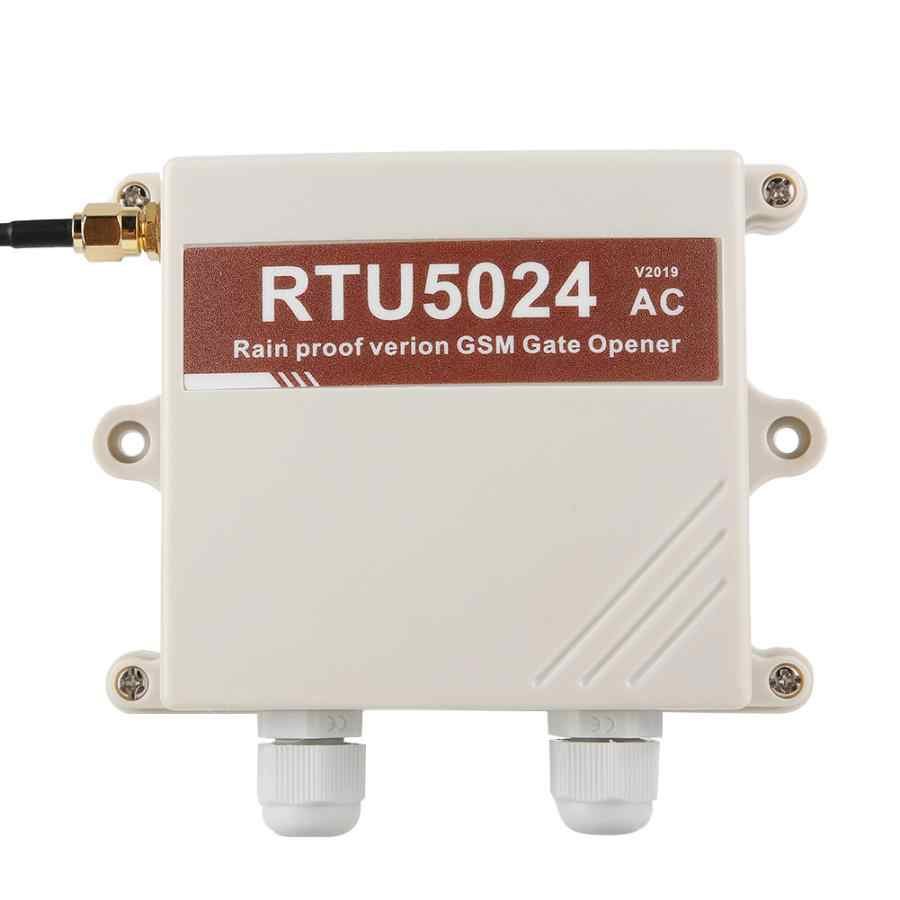 RTU5024 V2019 مقاوم للماء GSM باب بريموت كنترول دخول إنذار الوصول 100-240 فولت