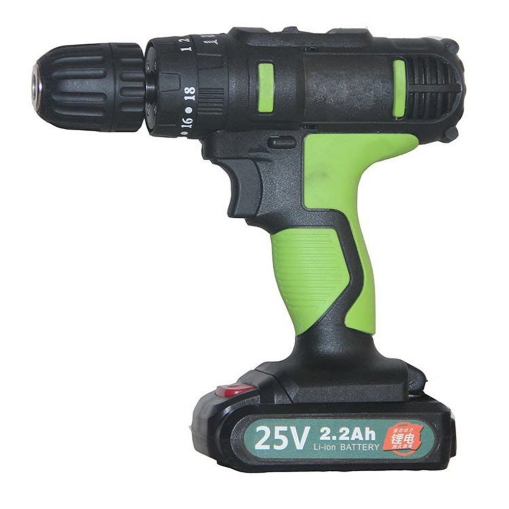 25V Charging Mode Electric Drill Home Drill Screwdriver Electric Charge Drill Exquisitely Designed Durable Gorgeous Sale
