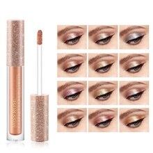 Miss Rose Beauty Natural Matte Liquid Pigment Eye Shadow Waterproof Glitter Shimmer Highlighter Brighten Makeup Eyeshadow