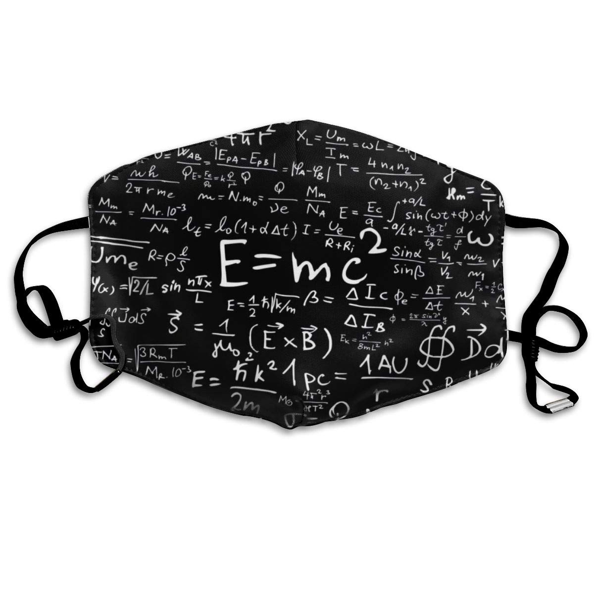 Mouth Mask Math Question Print Masks - Breathable Adjustable Windproof Mouth-Muffle, Camping Running For Women And Men