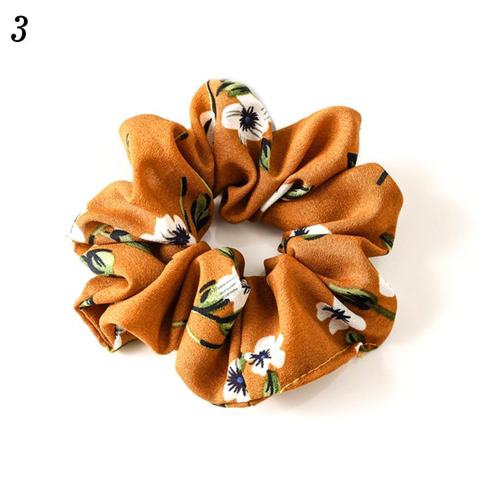 Корейский женский ободок для волос для девочек, полосатые женские резинки для волос, конский хвост, Женский держатель, веревка с ананасовым принтом, аксессуары для волос - Цвет: w3