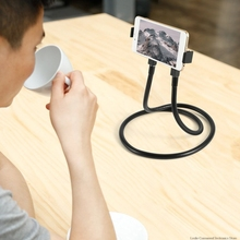 Flexible Mobile Phone Holder Hanging Neck Lazy Necklace Bracket Bed 360 Degree Phones Stand For iPhone for Xiaomi