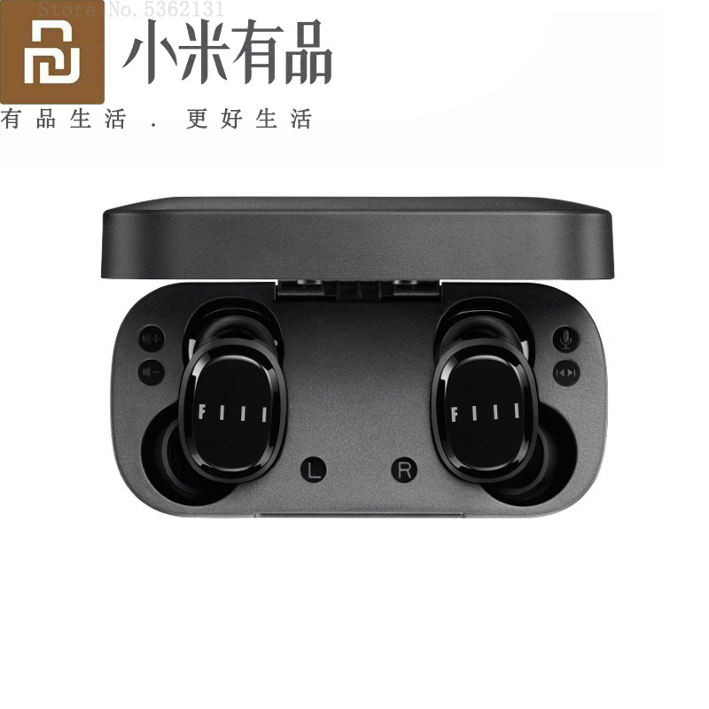 Bluetooth Earphones Headset Noise-Reduction T1X Youpin Fiil Wireless Touch-Control Sports