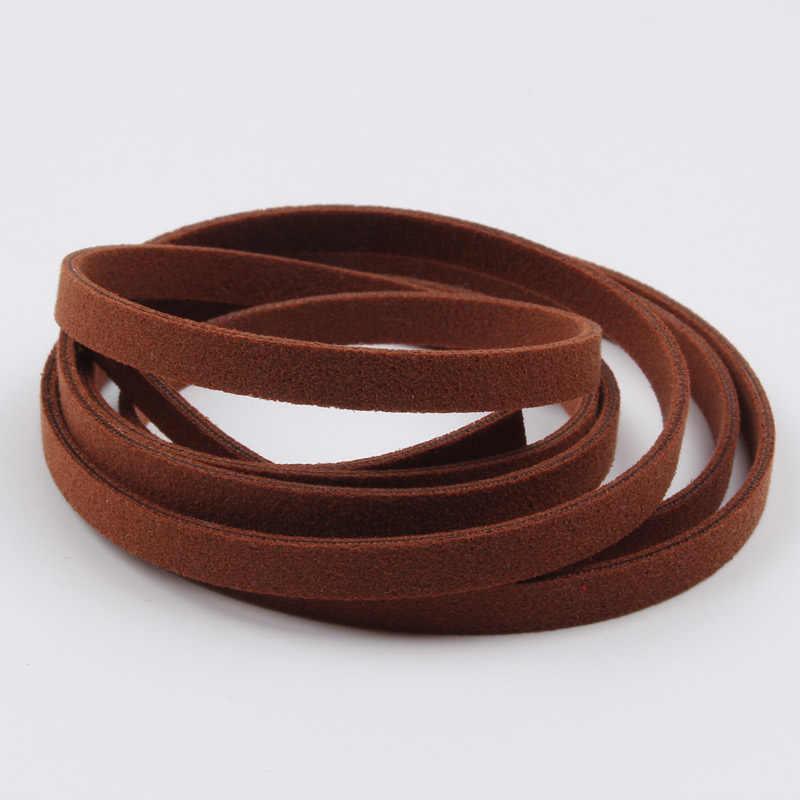 5mm 1 Mét Mờ Nhung Dây Dây Áo Ngực Handmade Thủ Công Da Phối Băng Ren Cho Đám Cưới Sổ Lưu Trang Trí Bánh Giá Rẻ