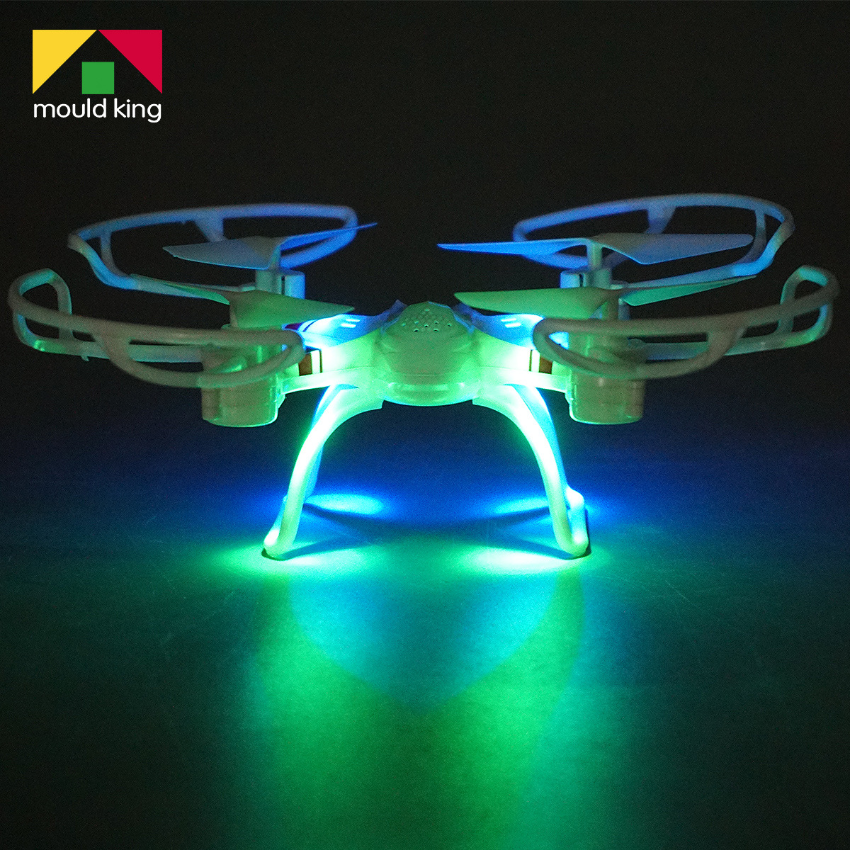 Hot Selling Quadcopter Drop-resistant Crashworthiness Chargeable Light Included Light Remote Control Aircraft Unmanned Aerial Ve