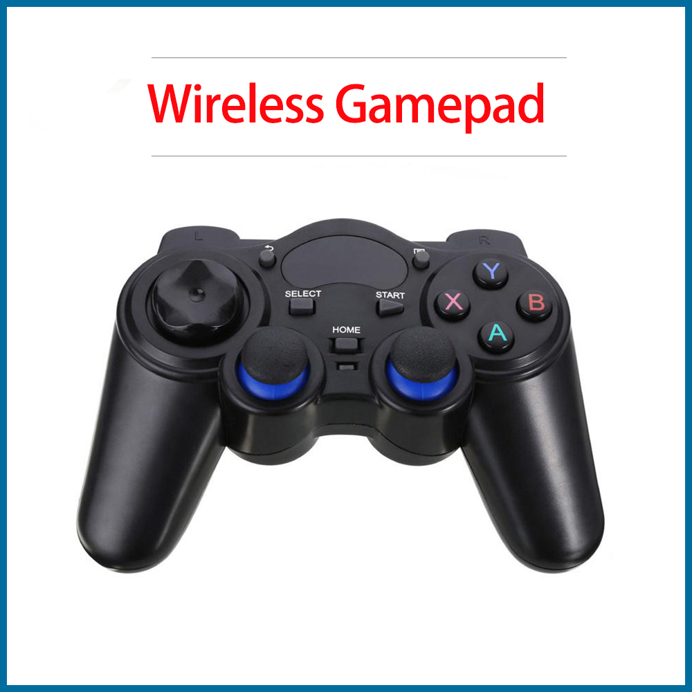 S ROBOT Kuulee 2.4GHz Wireless Game Controller Gamepad Gamepad And Micro USB OTG Converter Adapter For Android Flat TV BoxRPI169
